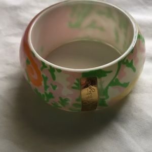 Lilly Pulitzer vintage bangle fish of the sea
